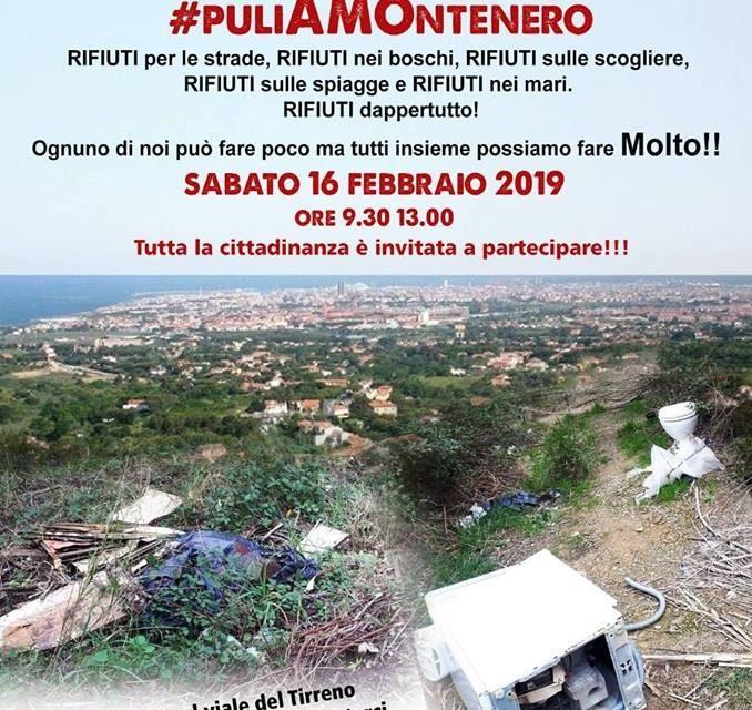 OPERAZIONE PANORAMICA #PULIAMONTENERO GRANDE APPELLO A TUTTA LA CITTADINANZA !